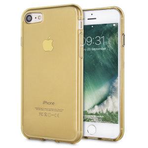 Fabriquée sur mesure pour votre iPhone 7 en coloris or, la coque Olixar FlexiShield est dotée d'une conception robuste en gel et offre une excellente protection à votre smartphone au quotidien.