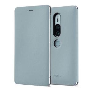 Cette superbe housse officielle Sony Xperia XZ2 Premium Style Cover avec support de visionnage en coloris gris vous permet de protéger avec élégance votre smartphone. D'excellente qualité et très fonctionnelle, elle intègre un rabat protecteur pouvant se transformer en un instant en support de visionnage.