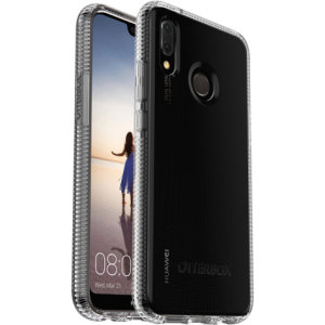 Keep your Huawei P20 Lite robustly protected with this OtterBox Prefix case featuring a one piece installation and ribbed protective structure. This 100% clear case shows off the beauty of the P20 Lite while keeping it guarded from everyday drops.