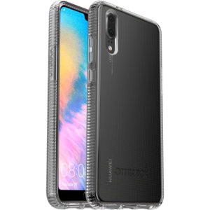 Keep your Huawei P20 robustly protected with this OtterBox Prefix case featuring a one piece installation and ribbed protective structure. This 100% clear case shows off the beauty of the P20 while keeping it guarded from everyday drops.