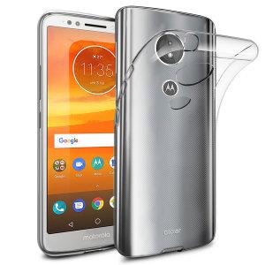 Conçue sur mesure pour votre Motorola Moto E5, la coque Olixar Ultra-mince est totalement transparente et offre une protection fine et résistante contre les dommages accidentels du quotidien.
