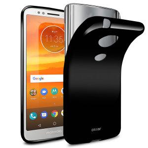 Fabriquée sur mesure pour votre Motorola Moto E5 en coloris noir, la coque Olixar FlexiShield est dotée d'une conception robuste en gel et offre une excellente protection à votre smartphone au quotidien.