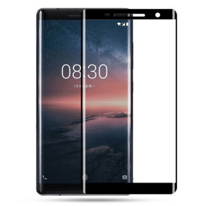 This ultra-thin tempered glass screen protector for the Nokia 8 Sirocco offers toughness, high visibility and sensitivity all in one package. Black edges match the black fascia of your phone perfectly, while curved edges totally cover your display.