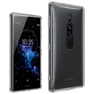 Olixar Ultra-Thin Sony XZ2 Premium Gel Case - 100% Clear