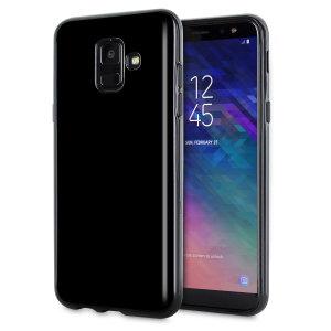 Fabriquée sur mesure pour votre Samsung Galaxy A6 en coloris noir, la coque Olixar FlexiShield est dotée d'une conception robuste en gel et offre une excellente protection à votre smartphone au quotidien.