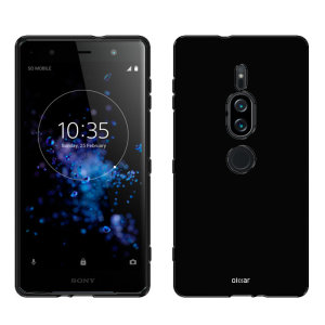 Olixar FlexiShield Sony Xperia XZ2 Premium Gel Case - Solid Black