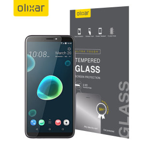 This ultra-thin tempered glass screen protector for the HTC Desire 12 Plus from Olixar offers toughness, high visibility and sensitivity all in one package.