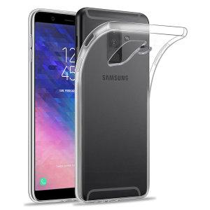 Conçue sur mesure pour votre Samsung Galaxy A6 Plus, la coque Olixar Ultra-mince est totalement transparente et offre une protection fine et résistante contre les dommages accidentels du quotidien.