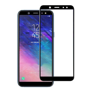 Keep your Samsung Galaxy A6 Plus 2018's screen in pristine condition with this Olixar Tempered Glass screen protector, designed to cover and protect even the edges of the phone's display. This protector also has black edges that match the phone perfectly.