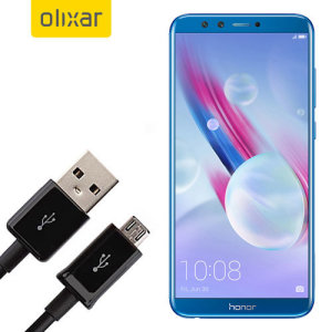 This 1 meter data / charging cable from Olixar allows you to connect your Huawei Honor 9 Lite to a PC via Micro USB. It supports charging currents over 2 amps, so your Huawei Honor 9 Lite can be up and running from flat in no time.