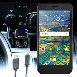 Keep your EE Hawk fully charged on the road with this compatible Olixar high power dual USB 3.1A Car Charger with an included high quality USB to Micro-USB charging cable.