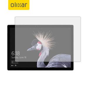 Este protector de pantalla fabricado por Olixar con cristal templado de alta calidad le ayudará a mantener la pantalla de su Microsoft Surface Pro 4 en perfectas condiciones.