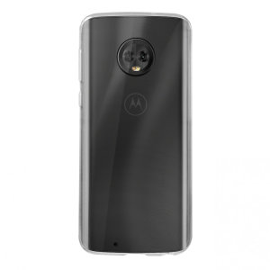 This official Motorola clear protective case for the Moto G6 offers excellent protection while maintaining your device's sleek, elegant lines. Reinforced corners provide extra shock absorption.