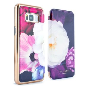 Ever wanted to check how you're looking on the go? With the Ted Baker Candace Mirror Folio case for Galaxy S8, you can do just that thanks to a concealed mirror on the inside of the case's flip cover. This slimline case also offers excellent protection.