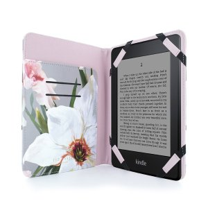 Protect your Amazon Kindle Paperwhite in style with the Ted Baker folio case. With a floral, chatsworth bloom styling and high quality, faux leather design, this case will keep your Kindle safe while looking great at the same time.