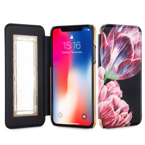 Ever wanted to check how you're looking on the go? With the Ted Baker Colin Mirror Folio case for iPhone X, you can do just that thanks to a concealed mirror on the inside of the case's flip cover. This slimline case also offers excellent protection.