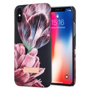 Form-fitting and bulk-free, the Bryony case for iPhone X from Ted Baker sports an ethereal, otherworldly floral aesthetic while also offering superlative protection for your device from scratches, scrapes and other surface damage.