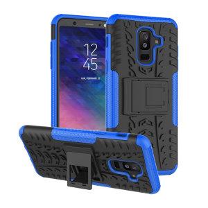 Protégez votre Samsung Galaxy A6 Plus 2018 avec cette coque ArmourDillo, composée d'un boîtier intérieur en TPU et d'un exosquelette externe résistant aux impacts.