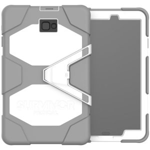 The Griffin Survivor Medical case for Galaxy Tab A 10.1 has been designed specifically for use in a medical environment. This durable, super tough case has been drop tested on concrete and repeatedly disinfected to prove its eligibility for hospitals.