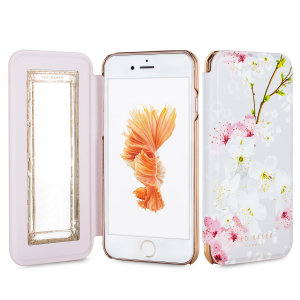 Ever wanted to check how you're looking on the move? With the Ted Baker Brook Mirror Folio case for iPhone 6S, you can do just that thanks to a concealed mirror on the inside of the case's flip cover. This slimline case also offers excellent protection.