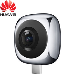 Capture 5K photos and 2K videos in 360° VR and relive your favourite memories with the Official Huawei EnVizion 360 Panoramic Camera for compatible Huawei USB-C smartphones. This camera creates immersive, VR experiences when used with a VR headset.