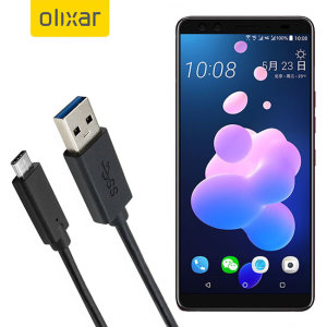 Assurez-vous de pouvoir maintenir chargé votre HTC U12 Plus à tout moment à l'aide de ce câble de chargement USB 3.0 mâle vers USB-C 3.1 (USB Type-C) mâle. Vous pourrez parfaitement utiliser ce câble de chargement sur un adaptateur secteur doté d'un port USB.