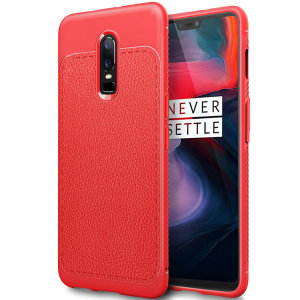 For a touch of premium, minimalist class, look no further than the Leather-Style Thin case in red. Lending flexible, durable protection to your OnePlus 6 with a smooth, textured leather-style finish, this case is the last word is style and class.