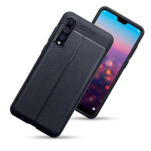 The sleek, robust leather-style case in black from Encase provides your Huawei P20 Pro with rugged protection in an executive styled casing. Made from tough TPU materials, this gel case will keep your P20 Pro from harm while looking superb.