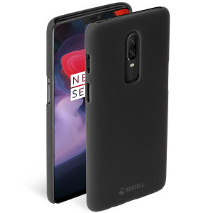 The Krusell Nora Slim Soft Shell case for the OnePlus 6 in stone combines a slim, ergonomic design with excellent shock absorption to provide all the protection your phone needs.