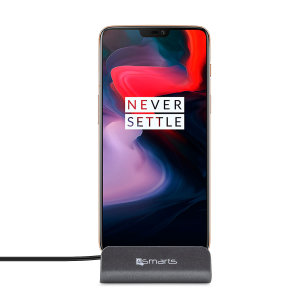 Synchronise and charge your OnePlus 6 with the stylish, useful and compact VoltDock desktop dock from 4smarts. This handy dock also doubles as a desk stand, allowing you to display your device in pride of place on any flat surface.