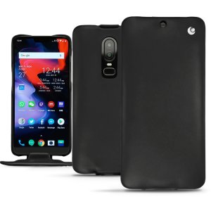 Noreve Tradition OnePlus 6 Premium Genuine Leather Flip Case