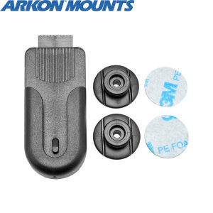 Keep your smartphone handy at all times with the Arkon Universal Smartphone Belt Clip Holder. Providing a simple attachment system for your device, this belt clip is both portable and sturdy, allowing for a comfortable but secure fit to any belt.
