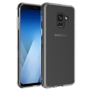 Custom moulded for the Samsung Galaxy J6 2018, this crystal clear Olixar ExoShield tough case provides a slim fitting, stylish design and reinforced corner protection against shock damage, keeping your device looking great at all times.