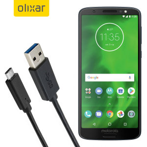 Make sure your Motorola Moto G6 is always fully charged and synced with this compatible USB 3.1 Type-C Male To USB 3.0 Male Cable. You can use this cable with a USB wall charger or through your desktop or laptop.