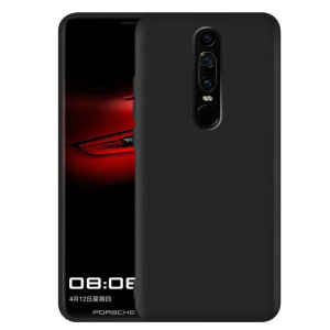 Custom moulded for the Huawei Mate RS Porsche Design, this black gel case from Encase provides slim fitting and durable protection against damage.