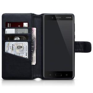 The genuine leather wallet case offers perfect protection for your Nokia 8. Featuring premium stitch finishing, as well as featuring slots for your cards, cash and documents.