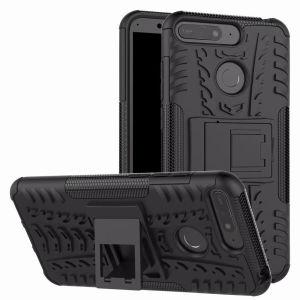 Protección para su Huawei Honor Y6 2018 ante golpes y arañazos gracias a esta funda Olixar ArmourDillo. Dispone de un esqueleto diseñado para resistir impactos y no dañar su teléfono en caso de caídas