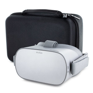 This Oculus Go carry case provides ample protection for your Oculus Go. With enough room to fit all of your Oculus Go accessories for taking it with you wherever you go.
