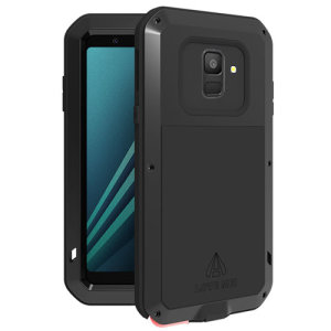 Protect your Samsung Galaxy A6 2018 with one of the toughest and most protective cases on the market, ideal for helping to prevent possible damage from water and dust - this is the black Love Mei Powerful Protective Case.