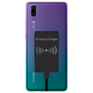 Enable wireless charging for your Huawei P20 without having to modify your phone or use a specialist case with this Ultra Thin Qi Wireless Charging Adapter.