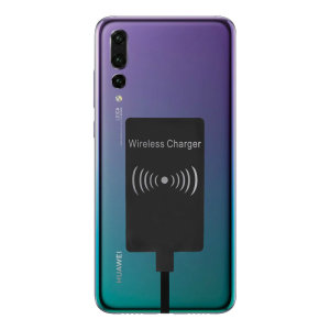 Enable wireless charging for your Huawei P20 Pro without having to modify your phone or use a specialist case with this Ultra Thin Qi Wireless Charging Adapter.