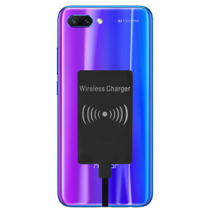 Enable wireless charging for your Huawei Honor 10 without having to modify your phone or use a specialist case with this Ultra Thin Qi Wireless Charging Adapter.
