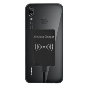 Enable wireless charging for your Huawei P20 Lite without having to modify your phone or use a specialist case with this Ultra Thin Qi Wireless Charging Adapter.
