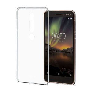 Protect your Nokia 6 2018 from the knocks, scrapes and drops everyday life throws your way with this official clear silicone cover. This case adds virtually no bulk to your device, leaving the Nokia 6 2018 as sleek and slim as on day one.