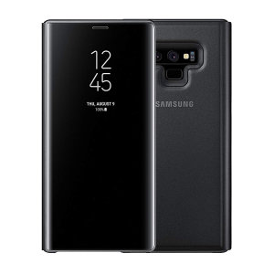 This Official Samsung Clear View Cover in black is the perfect way to keep your Galaxy Note 9 smartphone protected whilst keeping yourself updated with your notifications thanks to the clear view front cover.