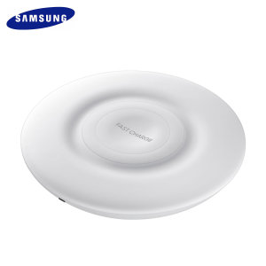 Charge your Samsung Galaxy quickly with the official fast wireless charging pad in white. Spend less time waiting around for your phone to charge and more time doing what you want to do with this official fast wireless charging pad.