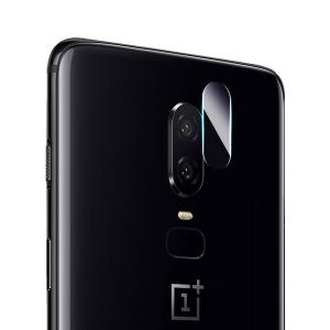 This 2 pack of ultra-thin tempered glass rear camera protectors for the OnePlus 6 from Olixar offers toughness and superb clarity for your photography all in one package.
