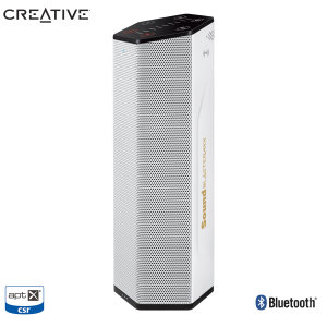 Connect your phone, tablet or computer to the impressive Sound BlasterAxx AXX 200 from Creative. Featuring aptX support and HD audio, this wireless speaker enhances your music for a truly unique listening experience.