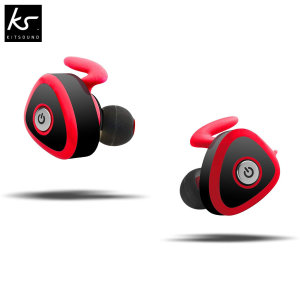 Go fully wireless and leave the annoying cables behind with the KitSound Commet Wireless Earbuds. Simply pair the earphones up with a Bluetooth enabled device and enjoy your music with amazing sound quality or take phone calls with the integrated mic.