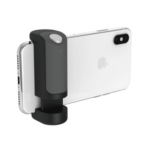 Turn your smartphone into a serious camera! Just Mobile ShutterGrip is a camera remote control for smartphone devices which operates via Bluetooth or volume keys as shutter release key. Also includes a wrist strap which provides added security.